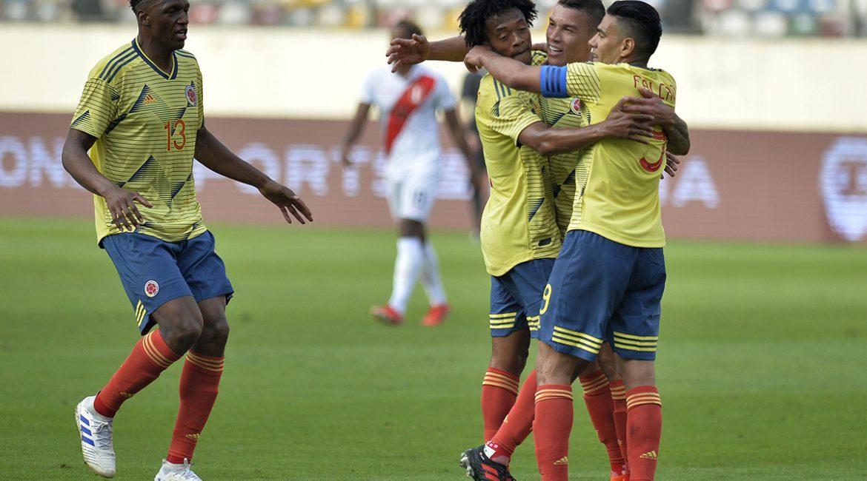 Colombia venció con autoridad al conjunto inca