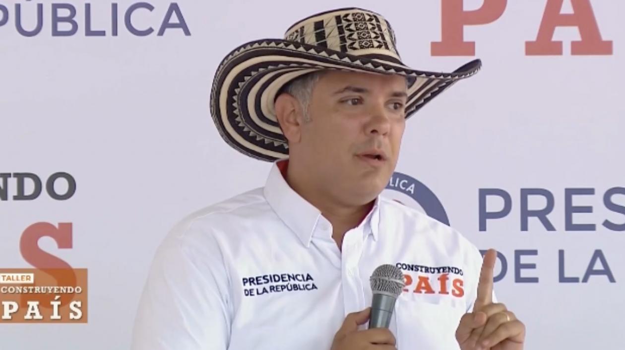 Duque anuncia paquete de medidas para la Vía al Llano