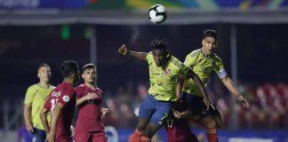 Colombia ganó en exigente encuentro con Qatar en San Pablo