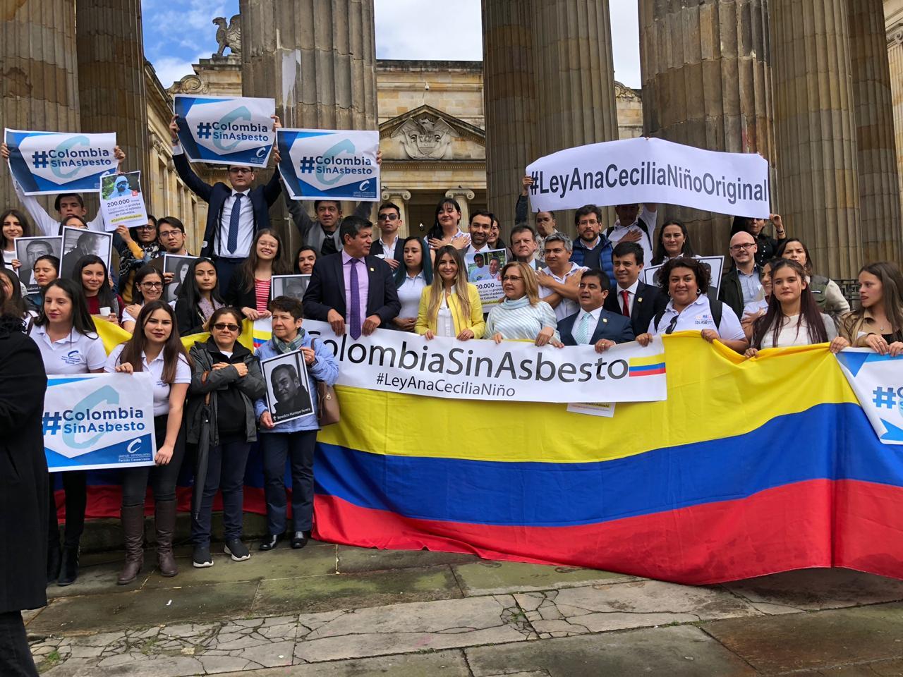 Histórica decisión: Colombia le dijo No al asbesto