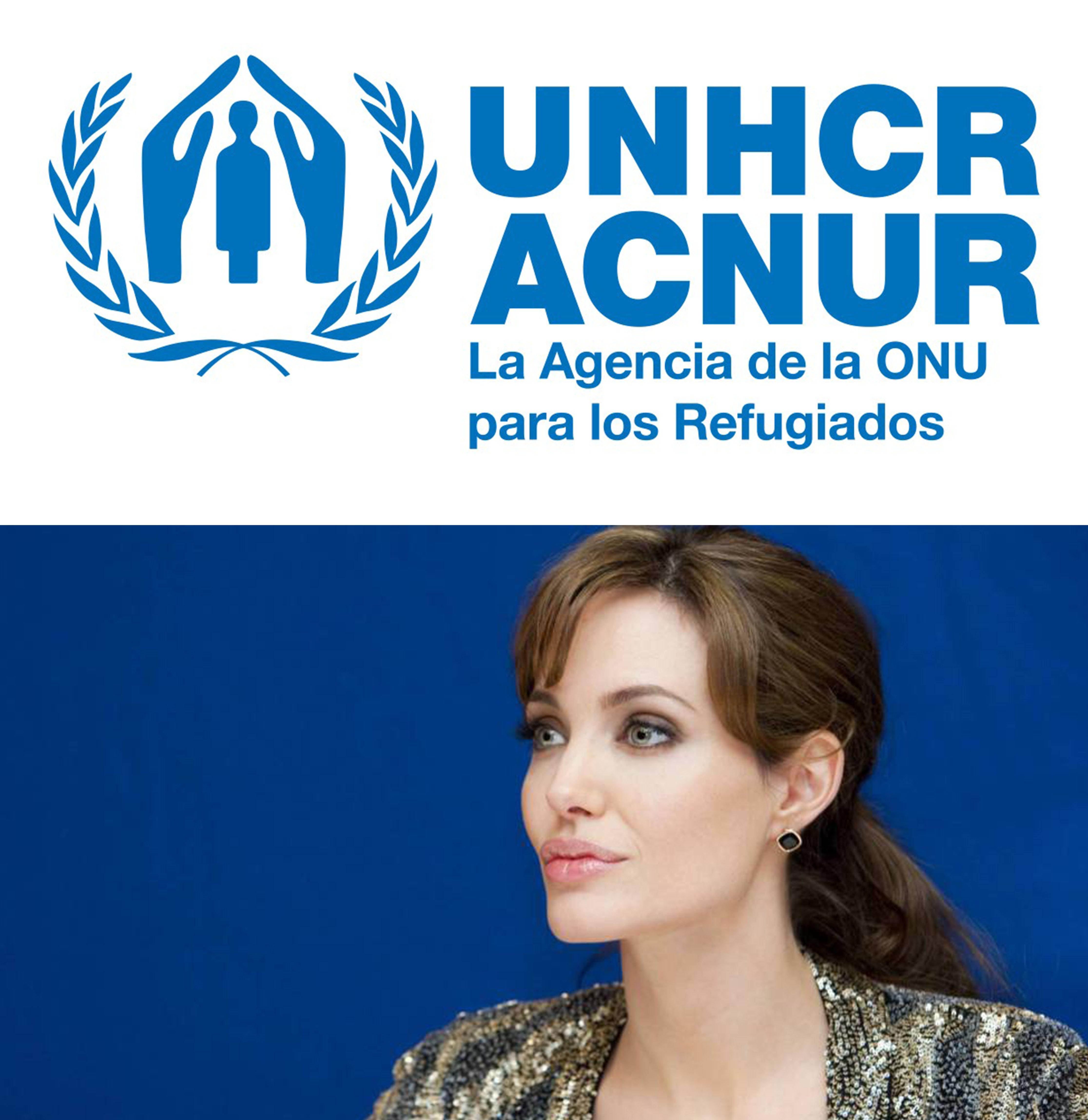 Angelina Jolie, enviada especial de ACNUR a frontera colombovenezolana