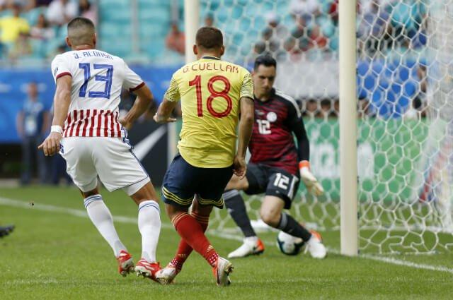 Colombia terminó invicto en la primera fase de la Copa América