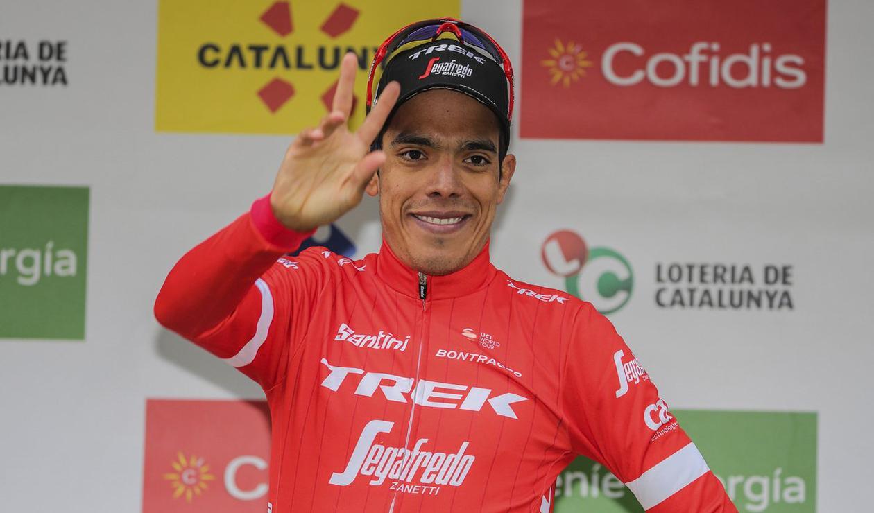 Járlinson Patano dio positivo en doping y anunció su retiro del ciclismo