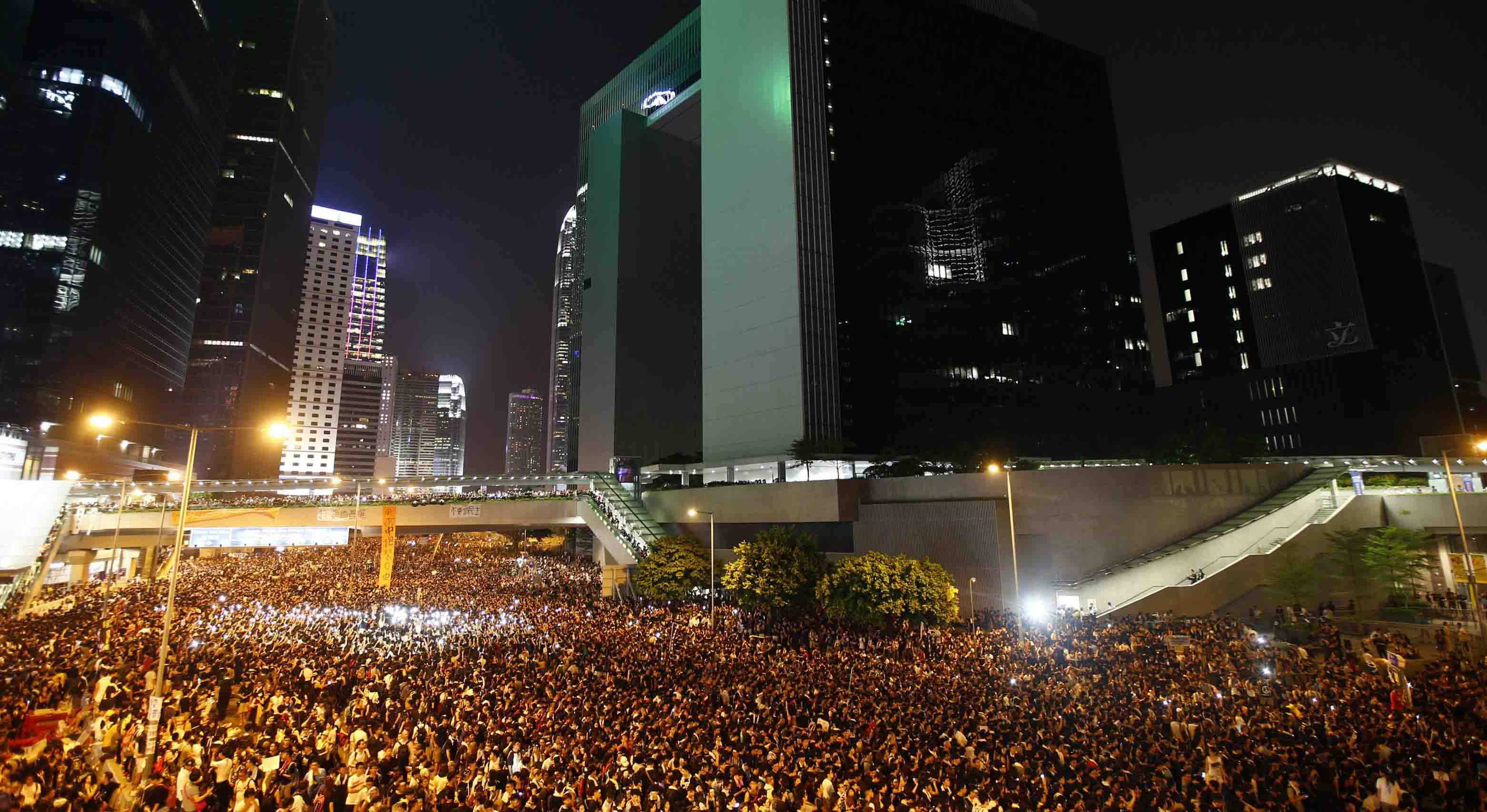 Las masivas protestas con las que Hong Kong le dice no a China