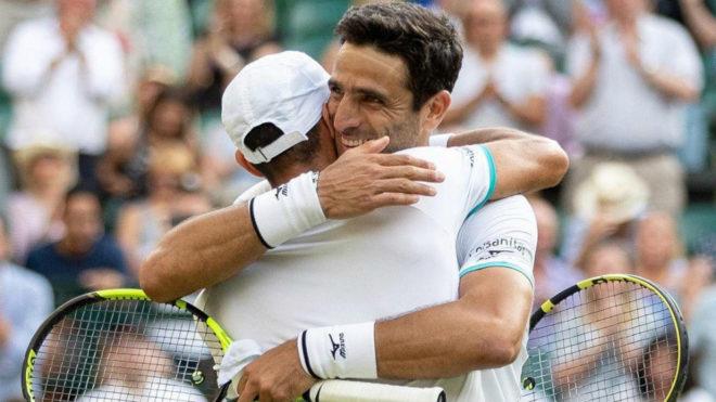 Histórico: Farah y Cabal, campeones en Wimbledon