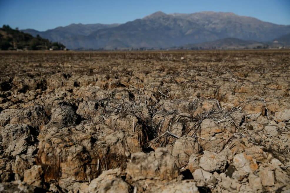 Se seca por completo la laguna Aculeo en Chile