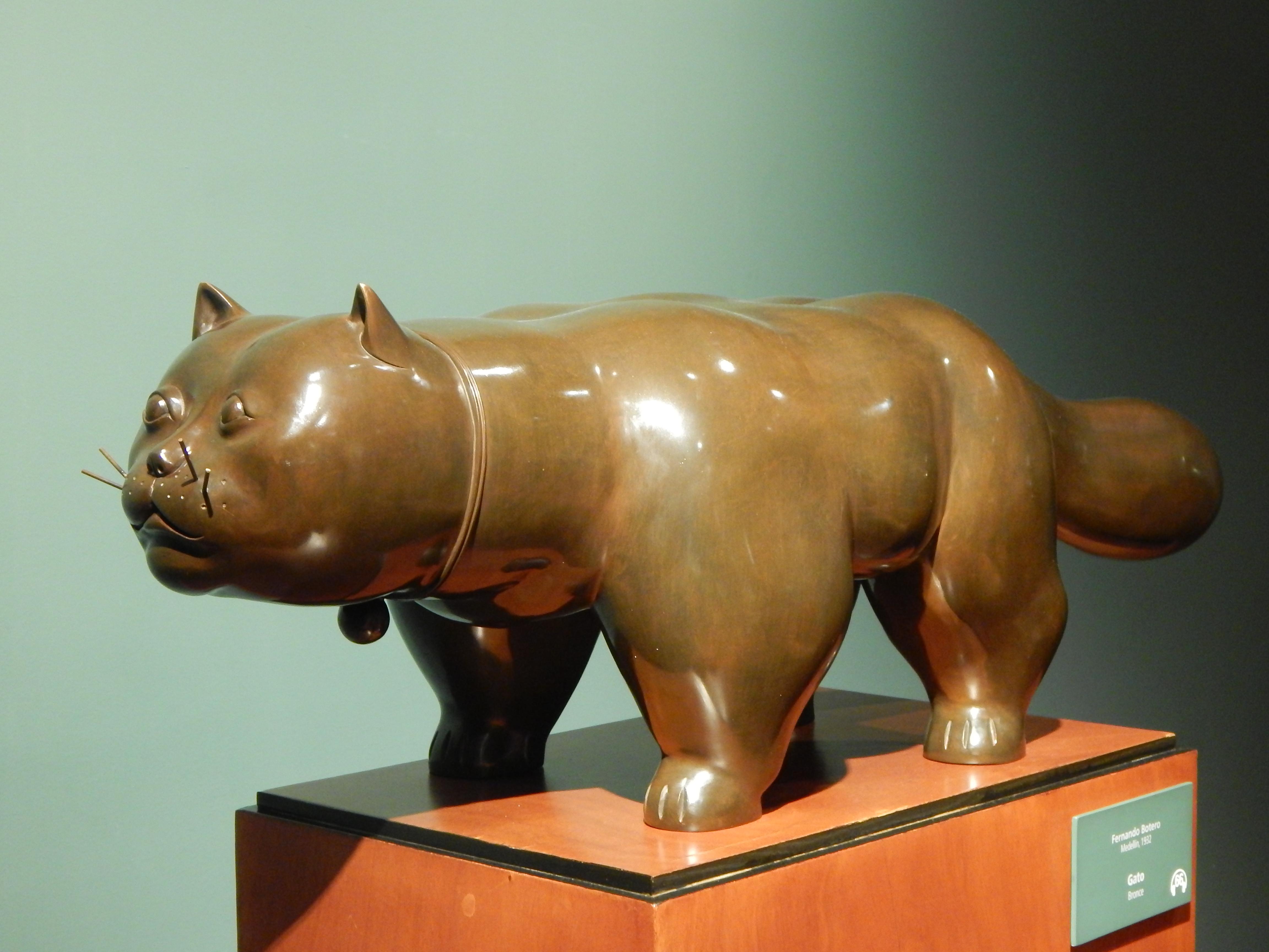 """Museo Botero: """"En mis cuadros hay cosas improbables, no imposibles""""  Fernando Botero."""
