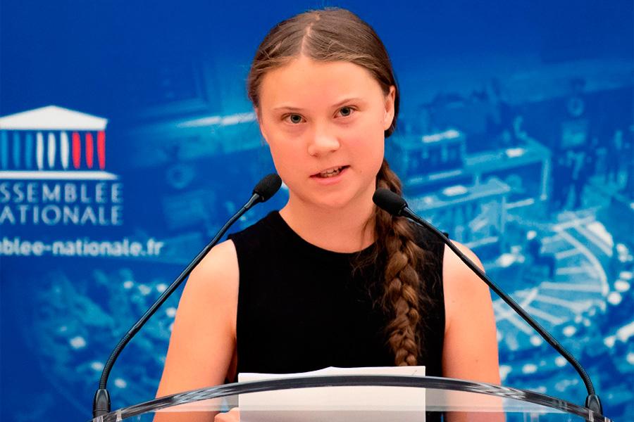 """""""No nos escuchen a los niños, escuchen a los científicos"""": Greta Thunberg, menor de 16 años"""