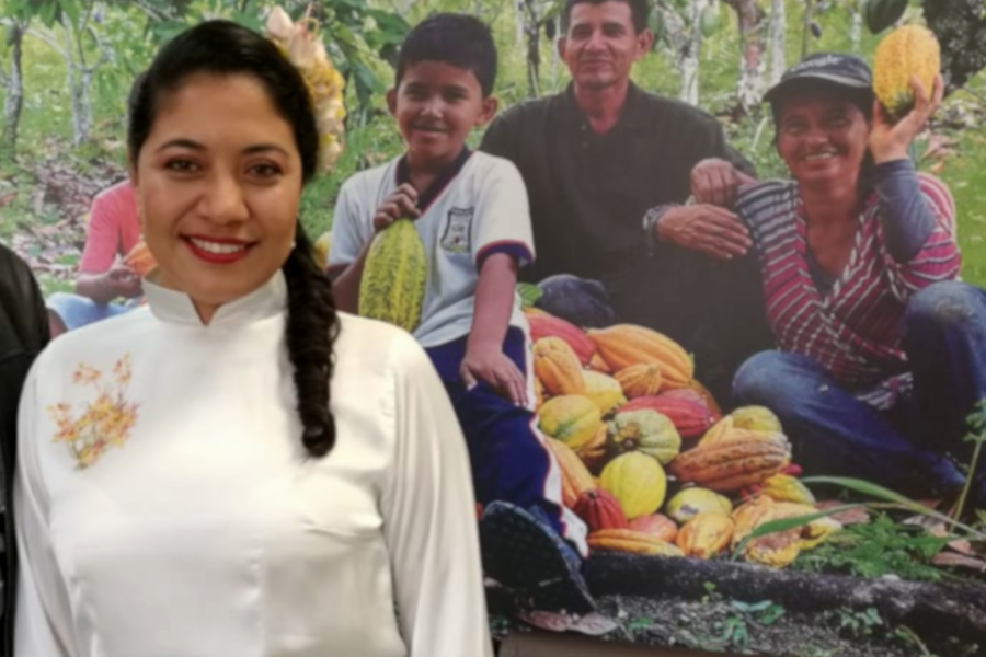 María del Campo, la mujer campesina del siglo XXI