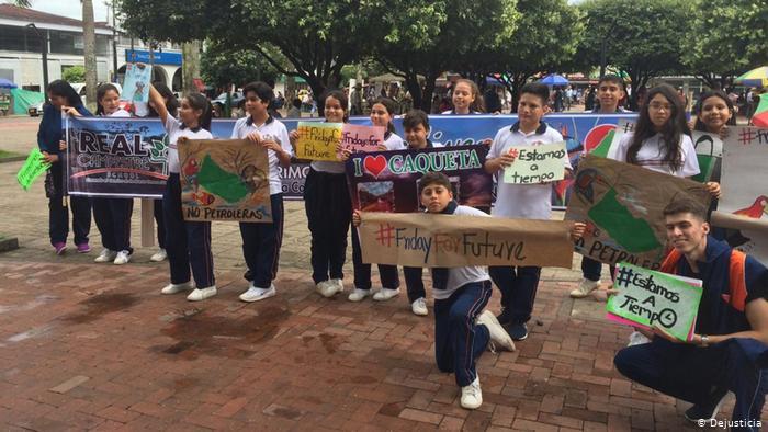 Jóvenes colombianos luchan para salvar la Amazonia