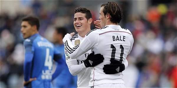 James se queda en la casa blanca y Bale se va para la Superliga China