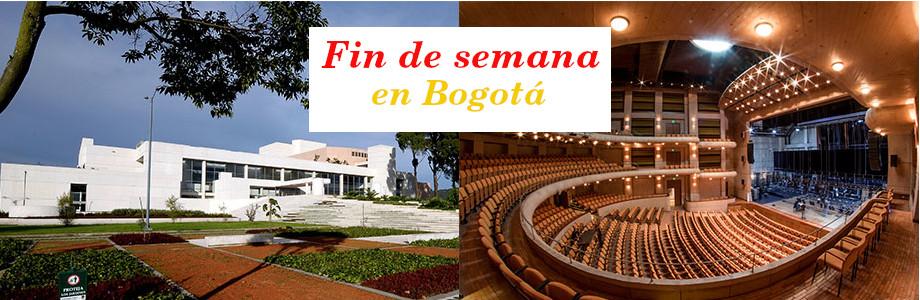 Agenda cultural de Bogotá para este fin de semana