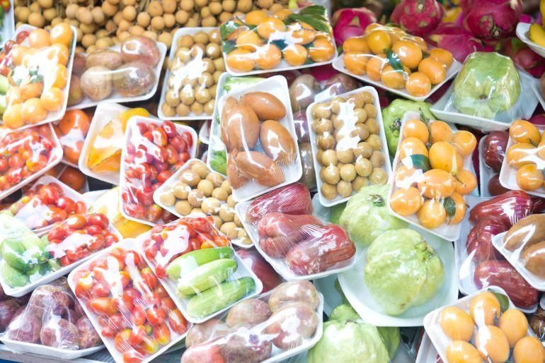 No empaquen las frutas en plástico