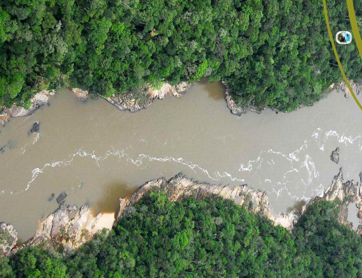 La Amazonia colombiana afectada por mercurio