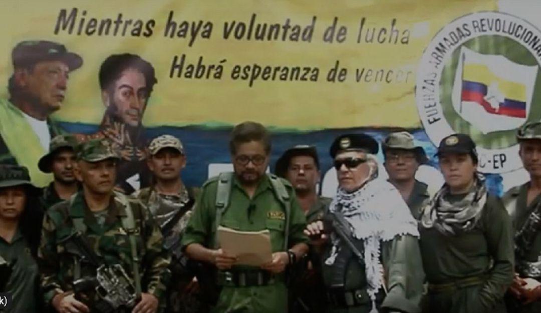 """""""Nuestro objetivo no es el soldado ni el policía, es la oligarquía""""Iván Márquez"""