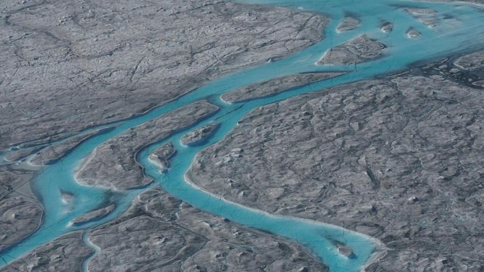 Groenlandia perdió 11 mil millones de hielo en un día