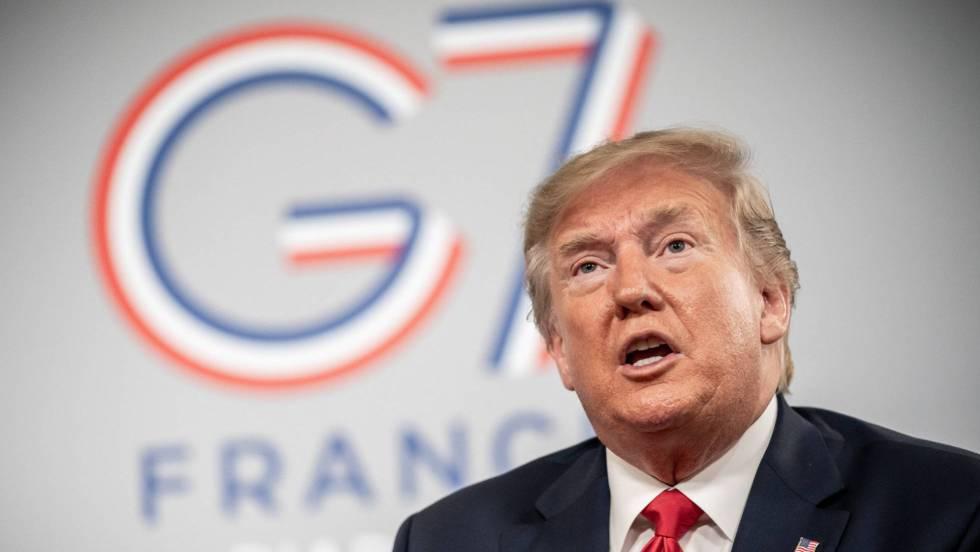 Trump ya se pronunció respecto a China e Irán