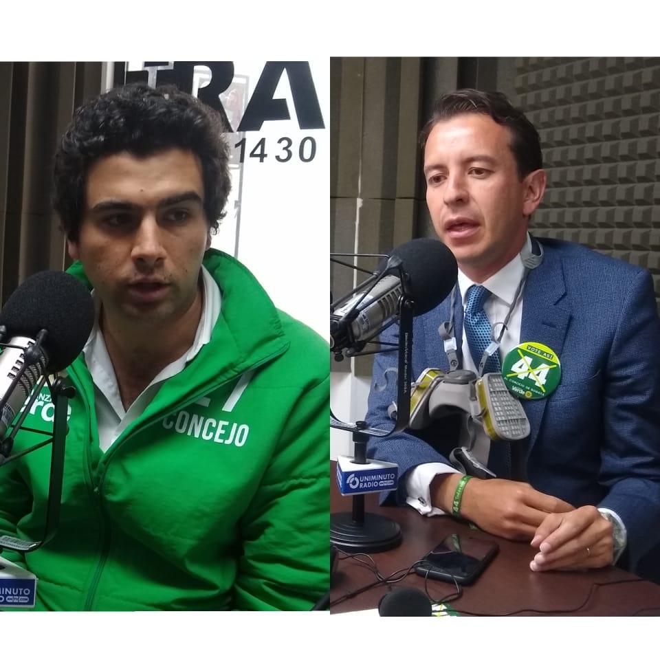 Aspirantes al Concejo del partido Alianza Verde conversaron en UNIMINUTO Radio