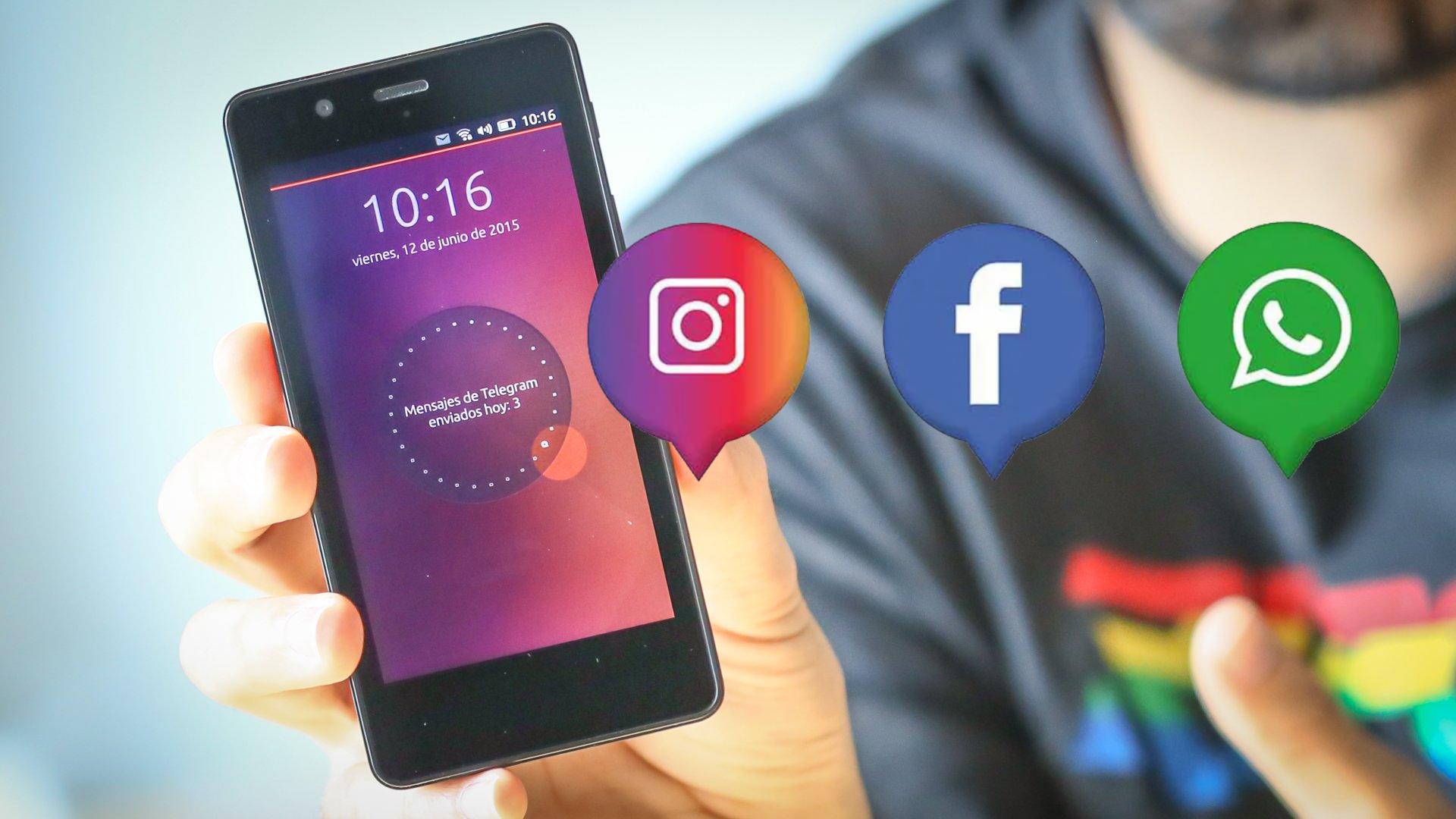 """""""Instagram de Facebook"""" y WhatsApp de Facebook"""""""
