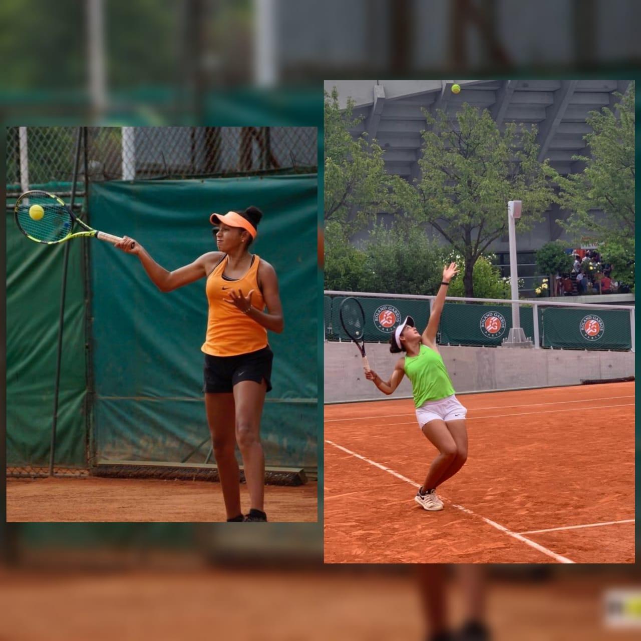 Kelly Vargas y Antonia Samudio, son las nuevas promesas del tenis colombiano