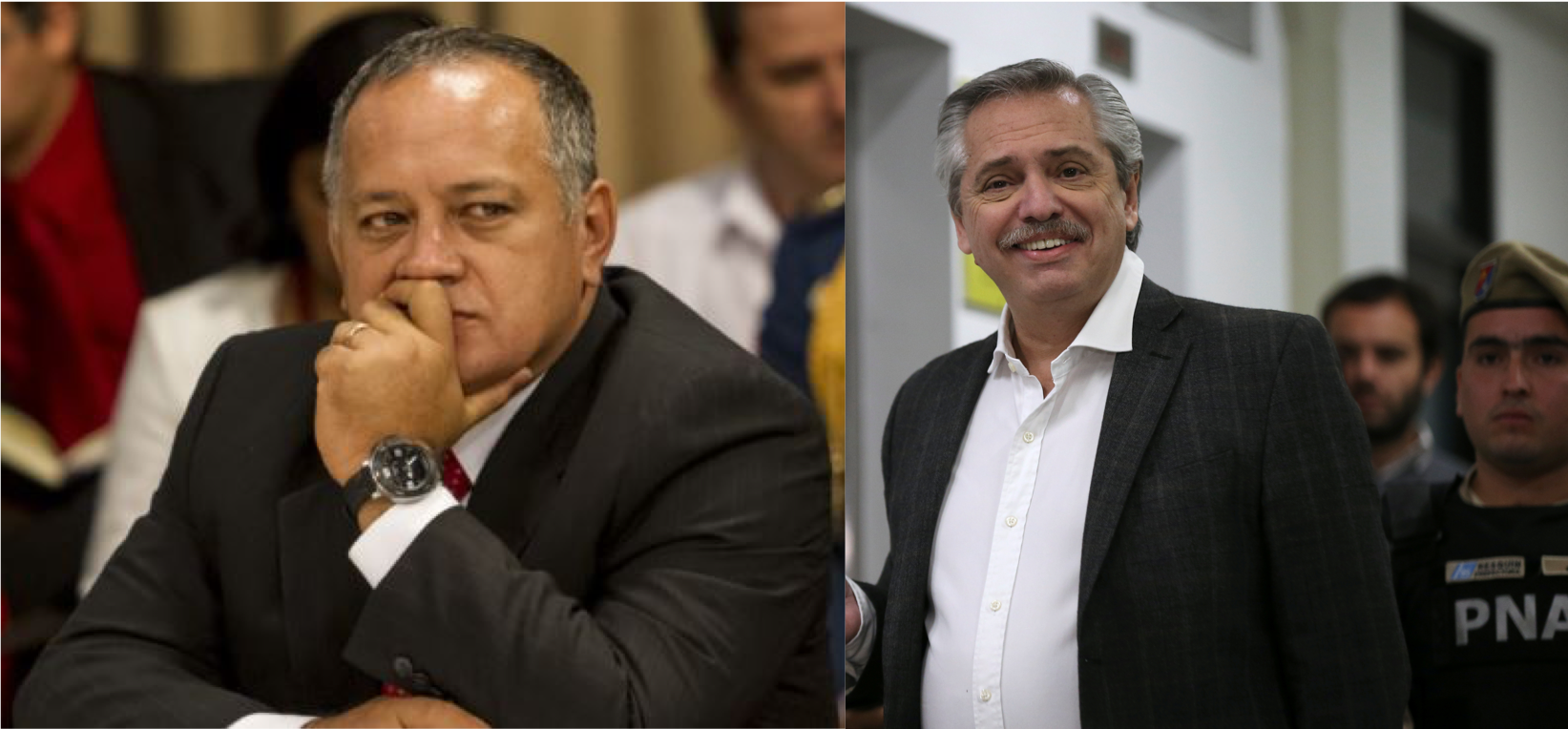 Dura advertencia de Diosdado Cabello al candidato del Kirchnerismo en Argentina