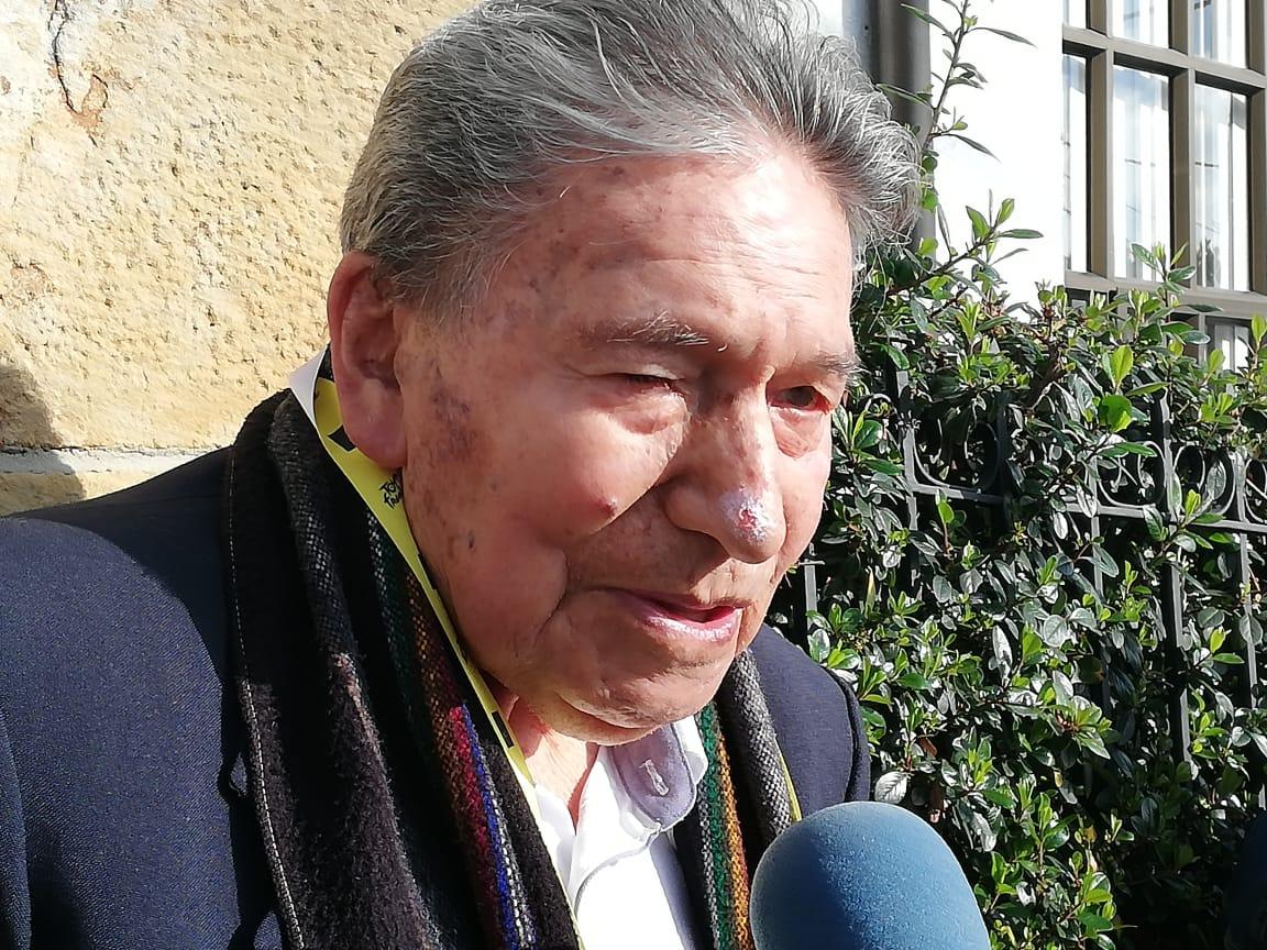 """""""El ciclismo no me dejó sino recortes de periódicos"""": don Efraín """"el Zipa"""" Forero"""