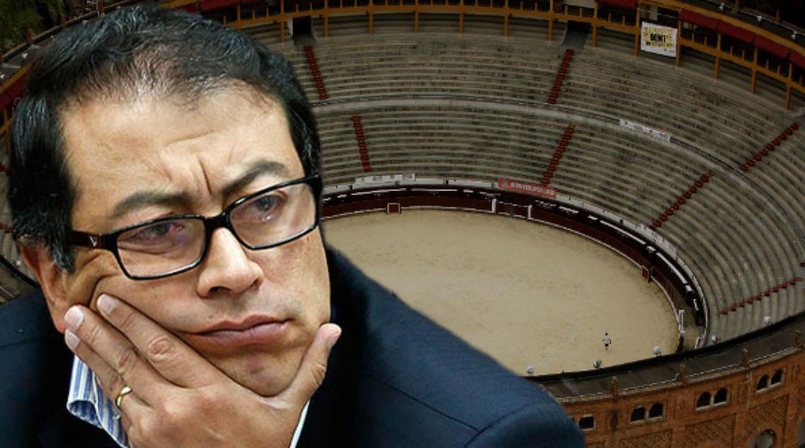 Petro en contra de la corrida de toros en Bogotá, nuevamente