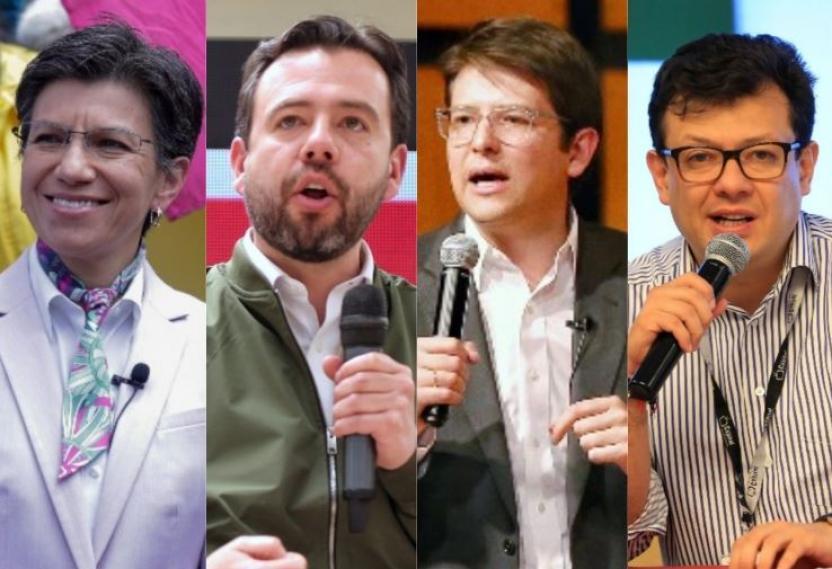 Candidatos alcaldía de Bogotá ya tienen posición definida en el tarjetón