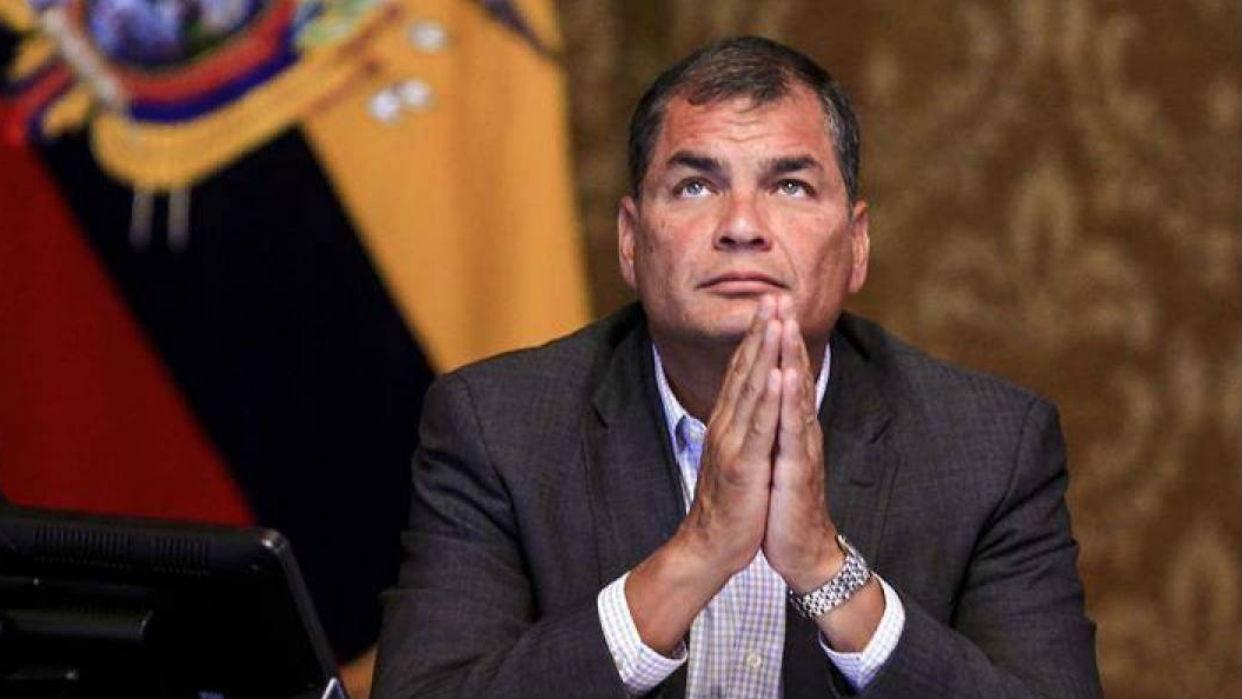 Jueza de Ecuador ordenó la captura del expresidente Rafael Correa