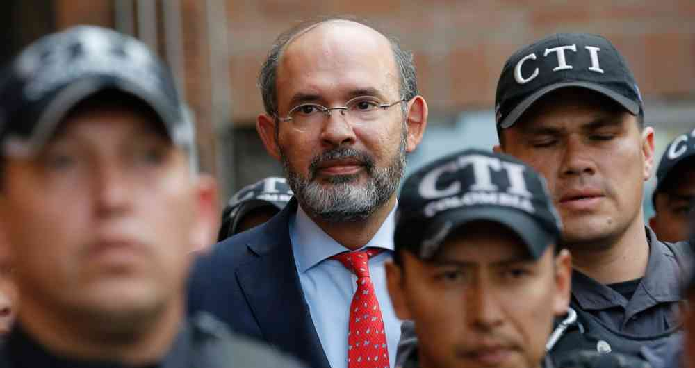 Ex-magistrado Ricaurte no se salvó de ir a juicio