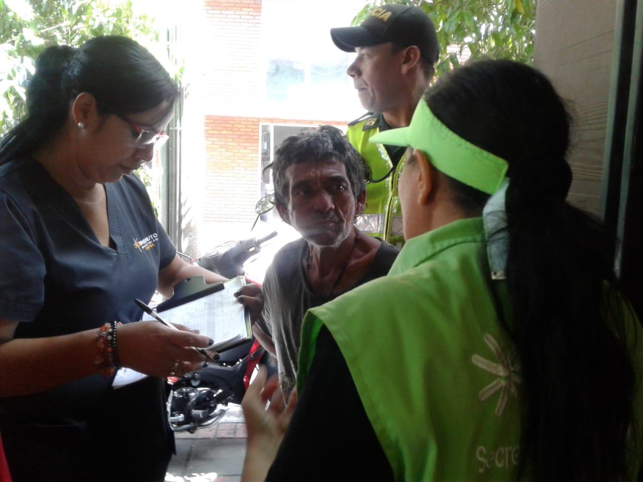 UNIMINUTO en jornada de sensibilización a los habitantes de calle en Neiva
