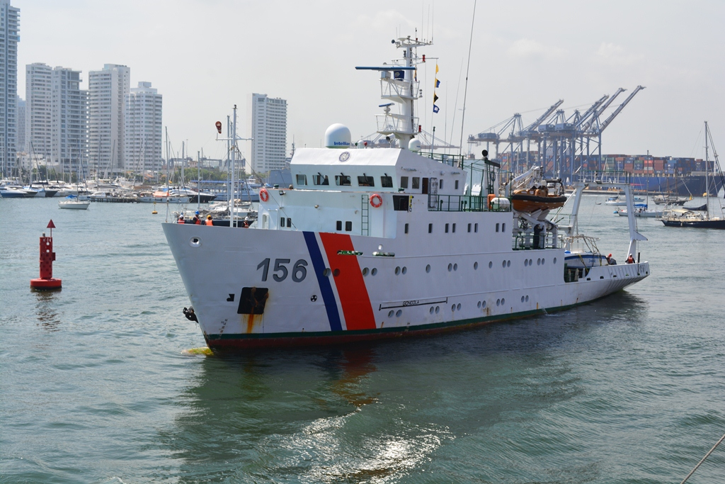 ARC ´Malpelo´ inicia crucero de investigación por el Pacífico colombiano