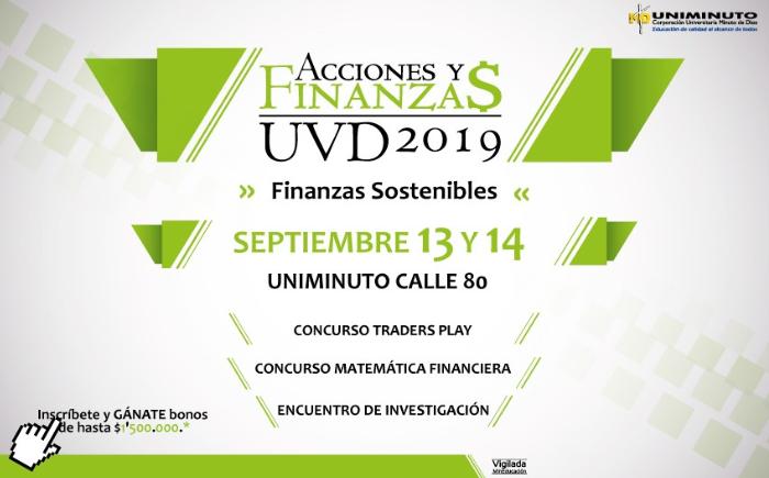 Acciones y finanzas UVD 2019: finanzas sostenibles