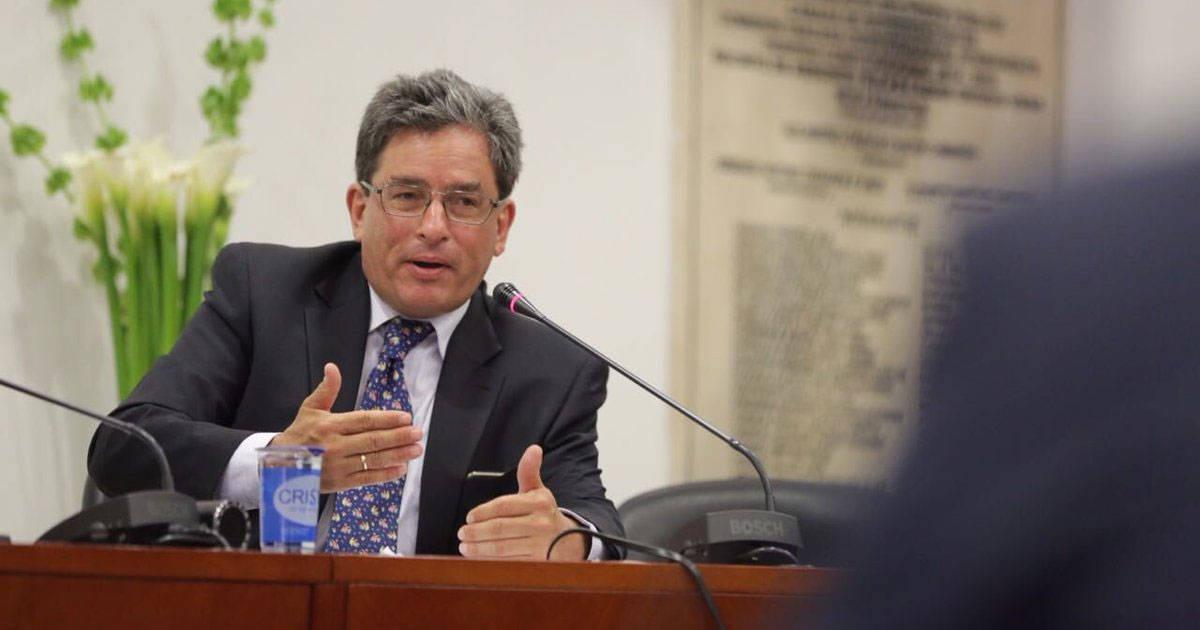 Rechazo rotundo al nombramiento como ministro de ambiente Ad hoc a Carrasquilla