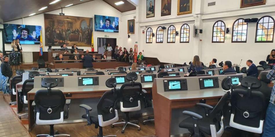 Así quedó el nuevo Concejo de Bogotá
