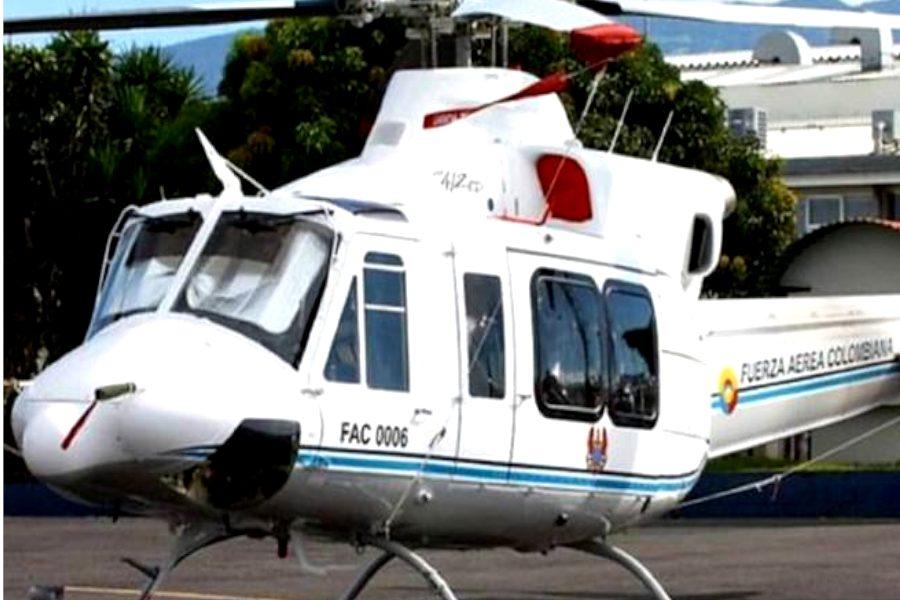 Apareció el helicóptero FAC 0006 siniestrado