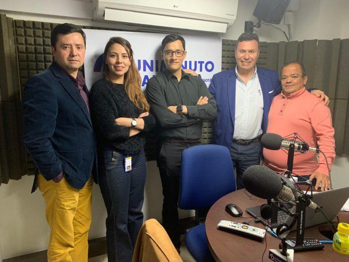 El equipo de Generación Empresa con los invitados del pasado 30 de Octubre