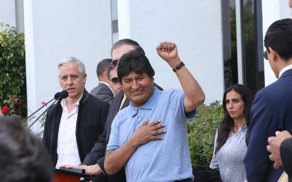 """""""Mientras tenga vida, seguiré en la lucha"""" Evo Morales ya se encuentra en suelo mexicano"""