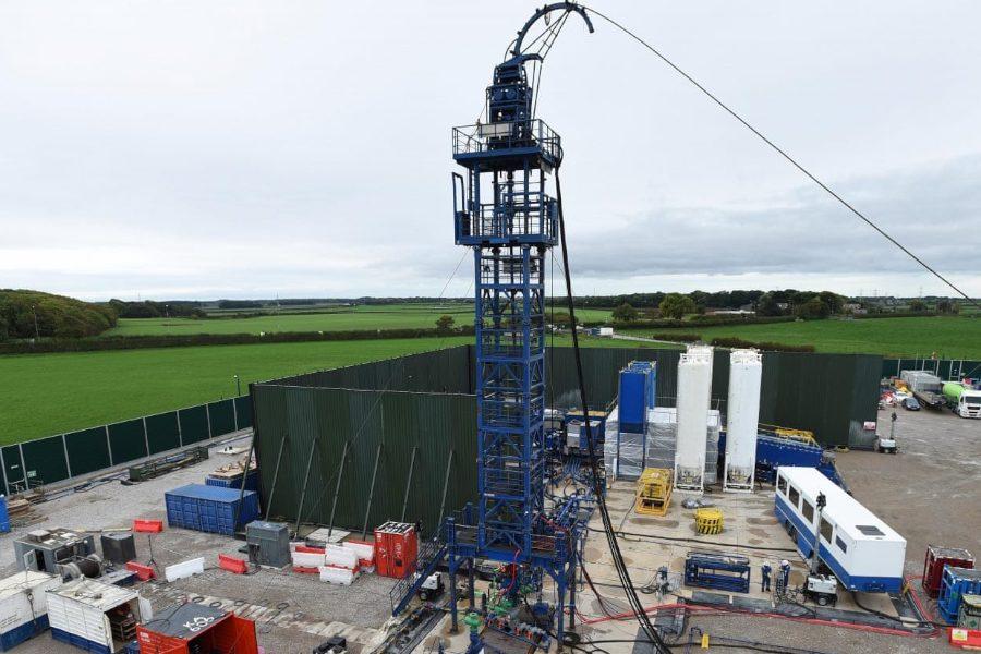 Detenido el fracking en el Reino Unido