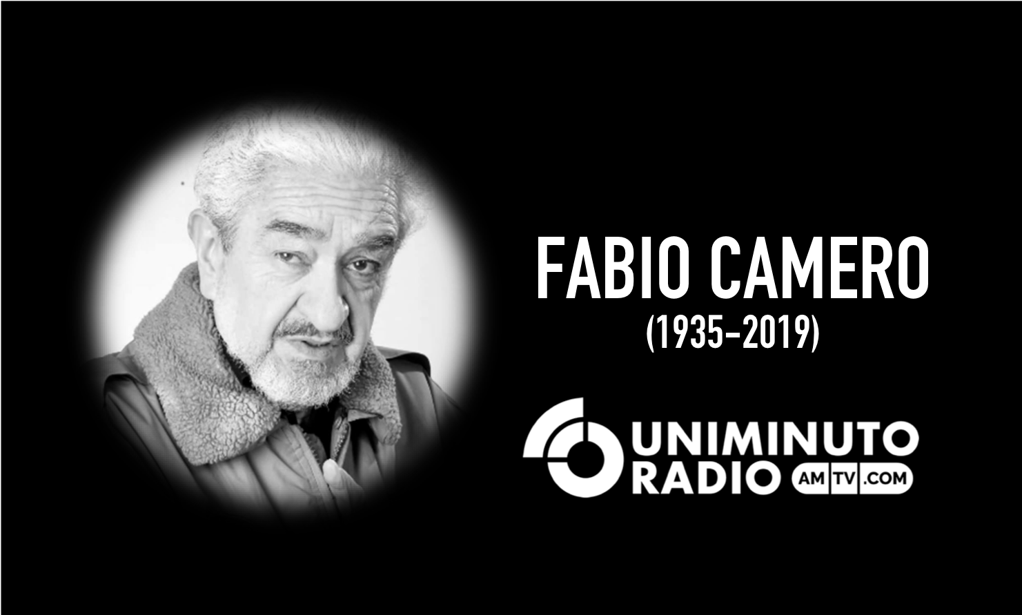 Fabio Camero, hoy se cerró el telón para un gran actor