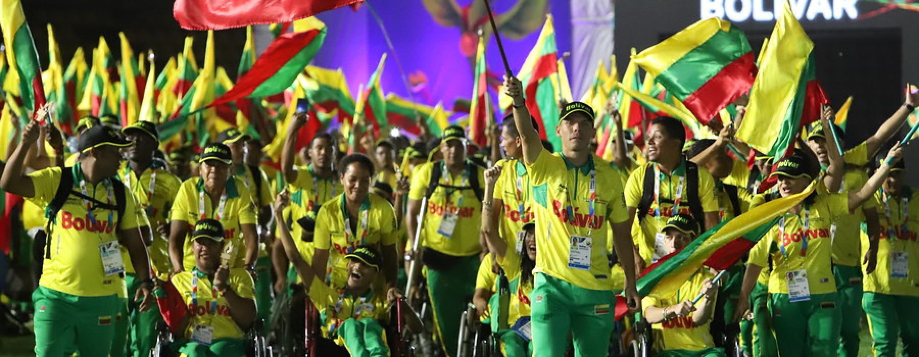 Comenzaron los Juegos Paranacionales en Bolívar