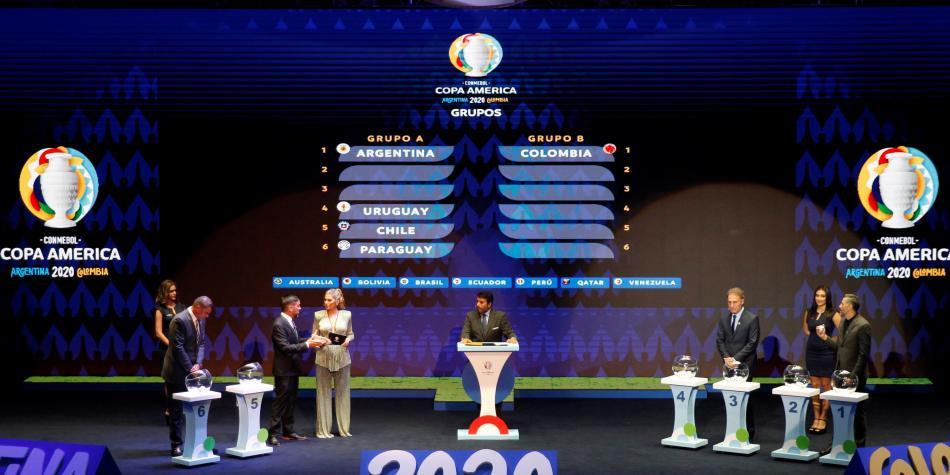 Ya quedó lista la fase de grupos de la Copa América 2020