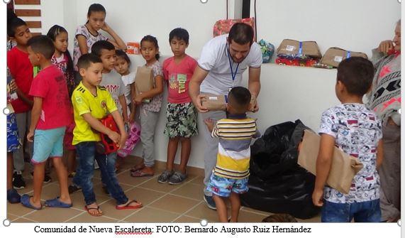UNIMINUTO Garzón llevó sonrisas a niñez del centro del departamento del Huila