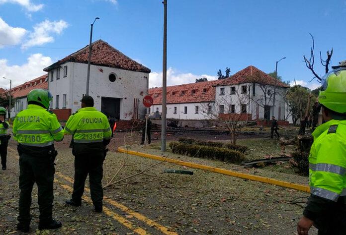 8 capturados por el atentado en la Escuela General Santander