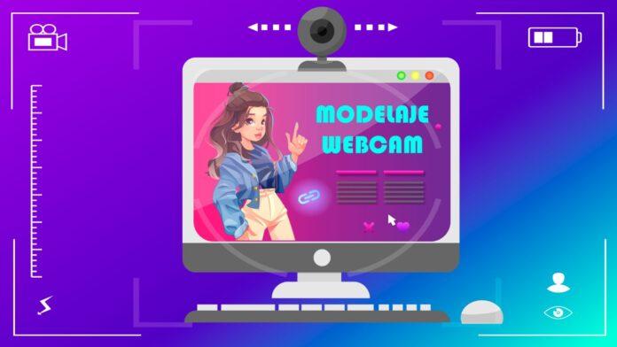 Ilustración Modelaje Webcam